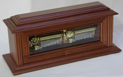 100 Note Duet Mantel Walnut Music Box